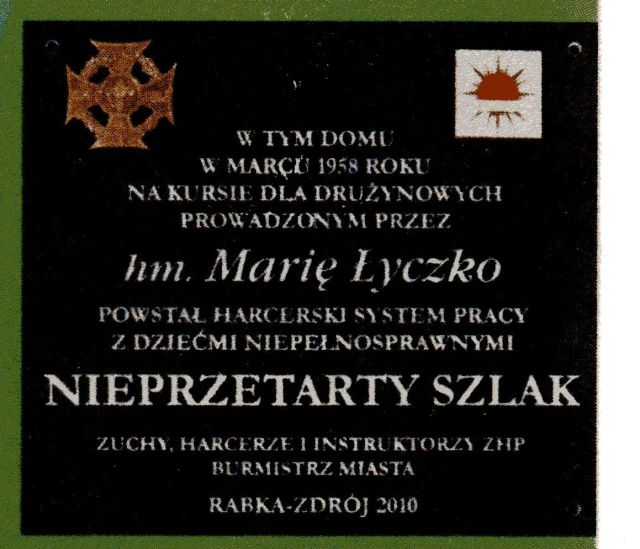 gh Łyczko tablica